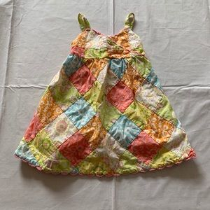 Janie and Jack baby summer dress size 12-18 mo